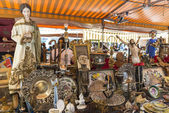 Flea market in Barcelona — Stock Photo