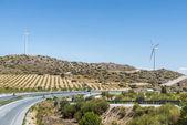 Route à travers l'Andalousie, Espagne — Photo