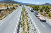 Dálnice přes Andalusie, Španělsko — Stock fotografie