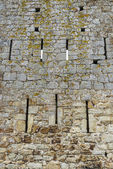 Walls of a castle — Stock Photo