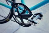 Reposapiés de bicicletas aparcadas en el Parque. — Foto de Stock