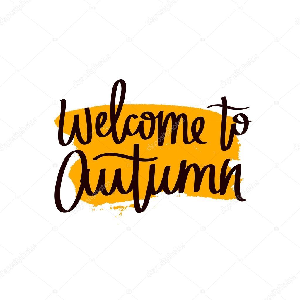 Картинки осень с золотой осень надпись