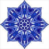 Circular abstract ornament — Stockvector