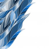 Abstract  Feather seamless background — Stockvector