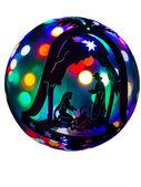 Ball and Nativity — Stock Photo