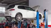 Car workshop — Stock Photo