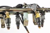 Injecton engine — Stock Photo