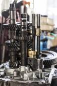 Transmission gearshift — Stock Photo