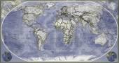 Map of planet earth — Fotografia Stock