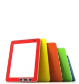 Concep Tablet computer — Stock Photo