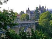 Bridge in Berne — Stockfoto