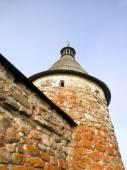 Tower of Solovetsky Monastery — Stock Photo
