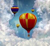 Fantastics balloons — Stock Photo