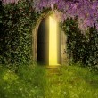Fantasy door — Stock Photo #61251269