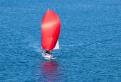 Red Sail — Stock Photo