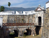 Acapulco şehir Fort — Stok fotoğraf