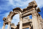 Temple of Hadrian — Stock Photo