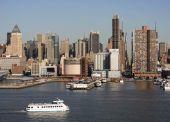 New York Water Transportation — Stock Photo
