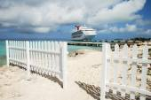 Grand Turk Beach — Stock Photo
