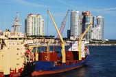 Miami Port — Stock Photo