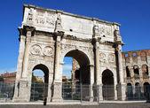 Roman Triumph Arch — Stock Photo