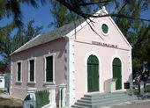 Grand Turk Island Library — Stock Photo