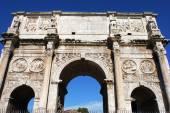 římský vítězný oblouk — Stock fotografie