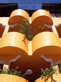 Resort Building Balconies — Stock Photo