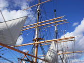 Sails And Masts — Stock Photo