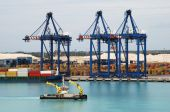 Grand Bahama Island Port — Stockfoto