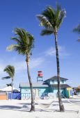 Tourist Island, Bahamas — Stock Photo
