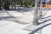 Close-up view of hammock — Stock Photo