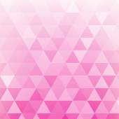 Triangle abstract background of pink — 图库矢量图片