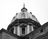 Church in Rome — Stock Photo