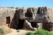 Tombs of the Kings Paphos — Stock Photo