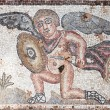 Cupid Eros Roman Mosaic — Stock Photo #64626983