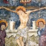 The Crucifixion, Kolossi Castle, Cyprus — Stock Photo #64629655