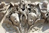 Angel Cherub Decoration St Pauls Cathedral — Foto Stock