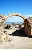 Ruins of Saranta Kolones castle — ストック写真