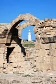 Ruins of Saranta Kolones castle — Стоковое фото