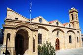 Igreja de Agios savvas — Fotografia Stock