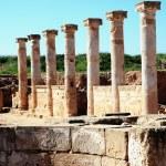 Roman Columns Paphos — Stock Photo #68583339