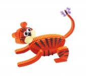 Toy of Quilling. Tiger — Foto de Stock
