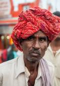 Hindu Pilgrim in Haridwar, India. — Stock Photo