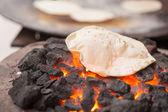 Chapati (Indian flatbread) — Stock Photo