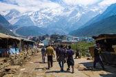 Pilgrimage to Kedarnath, India. — Stock Photo
