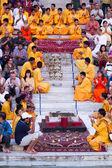 Rishikesh Bhajan Program — Stock Photo