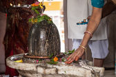 Shiva Lingam — Stock Photo