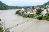 Rishikesh Bridge — Fotografia Stock