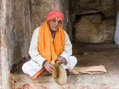 Hindu Mendicant — Stock Photo